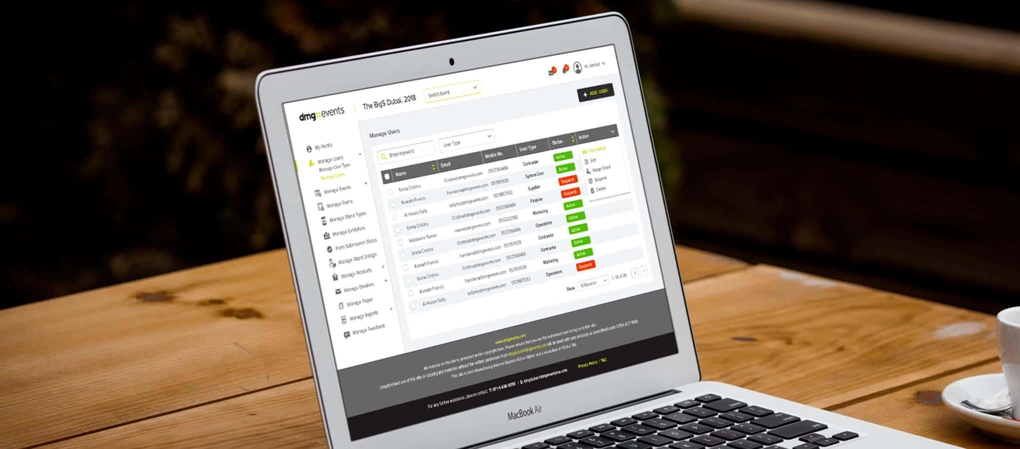 Powerful Online Exhibitor Manual Tradeshow Software-Xporience-Dubai-UAE