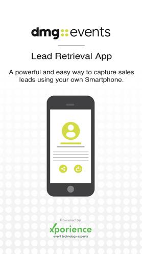 DMG Lead Retrieval App