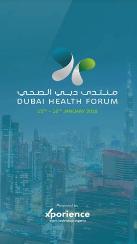 Dubai Health Forum Logo Xporience-Dubai-UAE