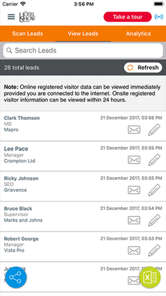 Lead-Generation-capture-retrieval-App-software-tool-Xporience-Dubai